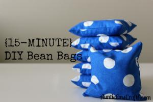 15-Minute DIY Bean Bags