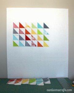 Quilter's Design Wall | AuntieEmsCrafts.com